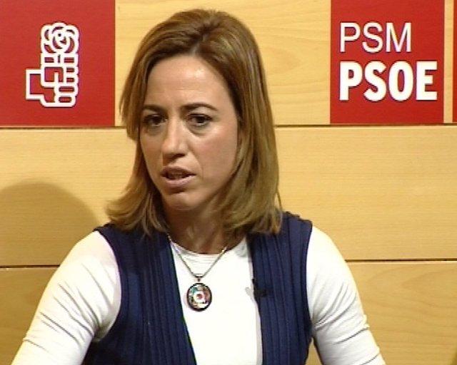 Chacón asegura luchar sólo contra la resignación