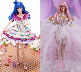 Katy Perry Y Nicki Minaj Barbies