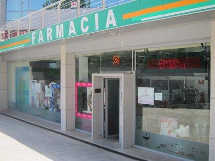 Federación de Farmacias prevé que decretos para reducir gasto supondrán más de 100.000 euros menos en ventas
