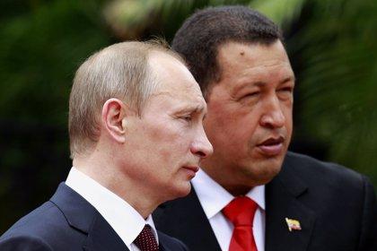 """Chávez y Putin defienden la """"soberanía"""" de Siria e Irán frente a las """"potencias colonialistas"""""""