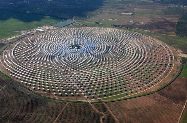 Planta solar de concentración Gemasolar de Torresol Energy
