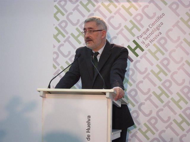 El Consejero De Economía, Innovación Y Ciencia, Antonio Ávila.