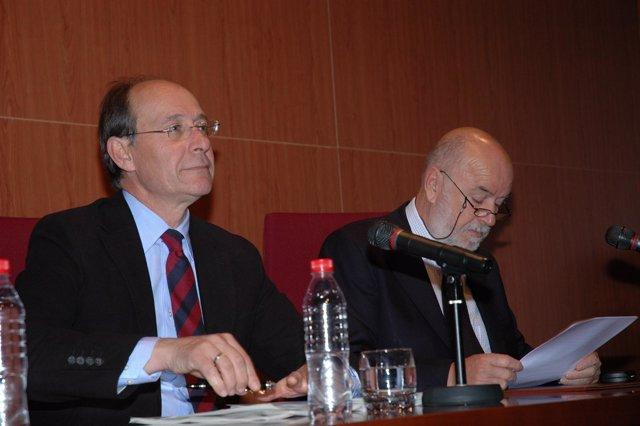 El Consejero Andaluz De Medio Ambiente Y El Rector De La UAL