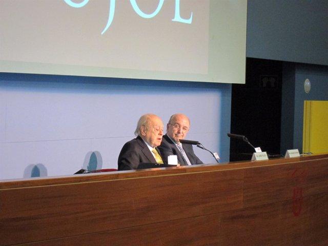 Jordi Pujol Y Joaquín Almunia