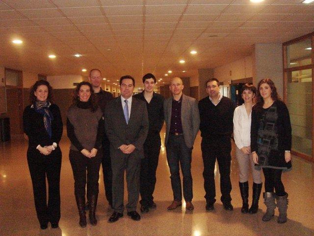 Reunión Del Equipo Multidisciplinar De CAD-Bone, Con El I3A