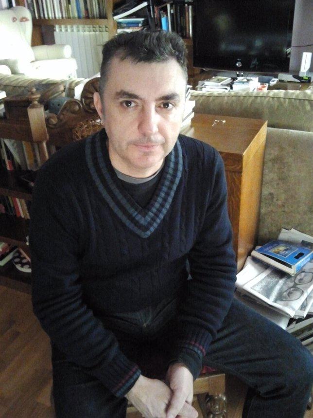 El Escritor Manuel Vilas (Barbastro, Huesca, 1962)