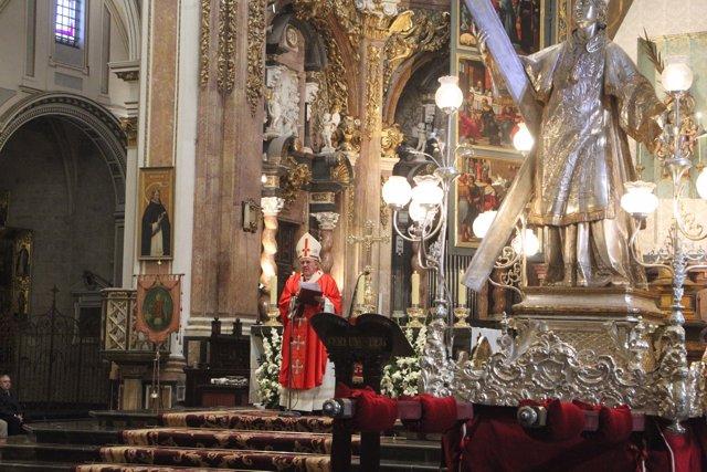 Misa En Honor A San Vicente Mártir En Valencia