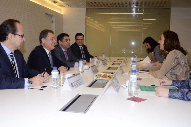 Reunión De Arasti Con La Secretaria De Estado De I+D+I, Carmen Vela