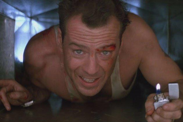 Bruce Willis En 'La Jungla De Cristal'