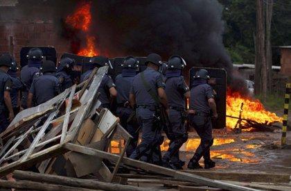 Desalojan a unas 9.000 personas de unos terrenos en Sao Paulo