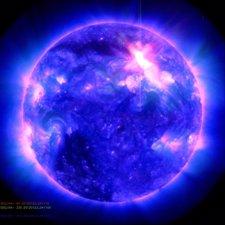 Luz Ultravioleta Sobre La Tierra