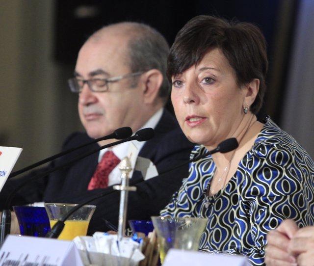 Presidenta De La APM, Carmen Del Riego