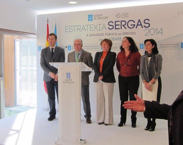 Visita De Núñez Feijóo Al Nuevo Centro De Salud De Sigüeiro