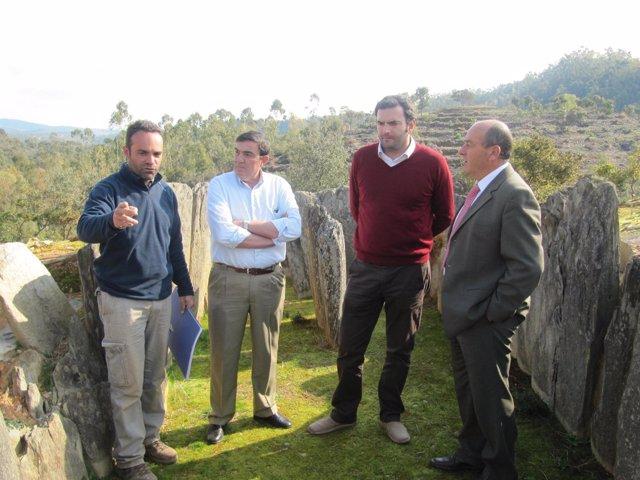 Los Delegados De Cultura, Educación Y Medio Ambiente Visitan El Pozuelo.