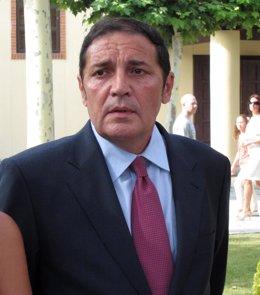 El Consejero De Sanidad, Antonio María Sáez Aguado