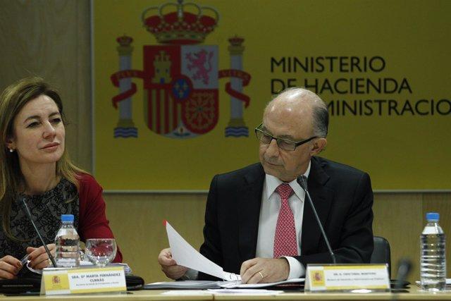 Ministro De Hacienda, Cristóbal Montoro