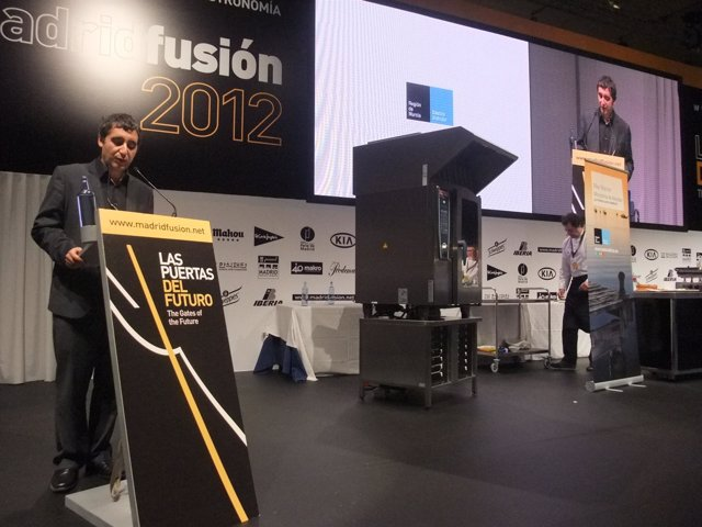 El Consejero De Cultura Y Turismo, Pedro Alberto Cruz, En Madrid Fusión