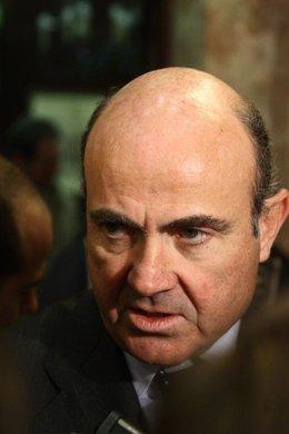 Ministro De Economía Y Competitividad, Luis De Guindos