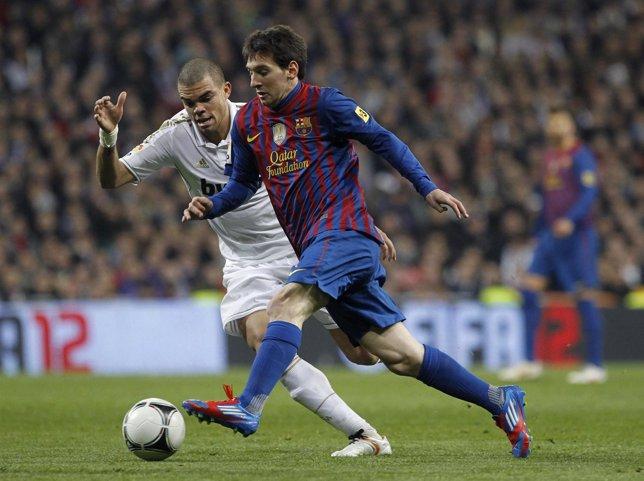 Pepe Y Leo Messi