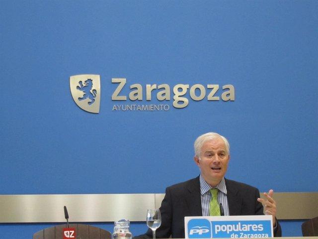 Eloy Suárez, Portavoz PP Ayuntamiento Zaragoza
