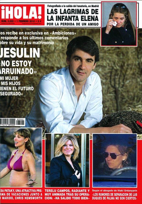 Portada Revista Hola 25 De Enero