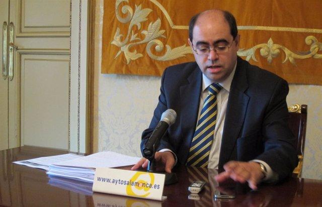 El Vicepresidente De Mercasalamanca, Fernando Rodríguez