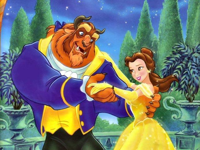 La Bella Y La Bestia El Clásico De Disney