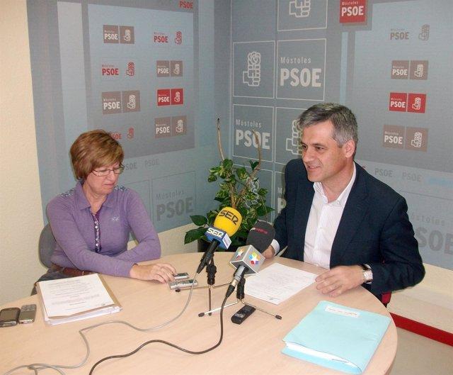 David Lucas Portavoz Del PSOE En Móstoles