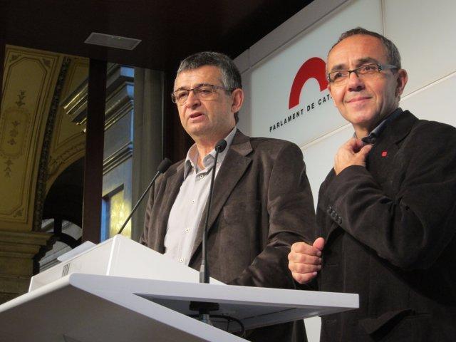Salvador Milà Y Joan Coscubiela (ICV)