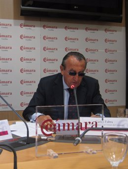 Carlos Fabra En La Rueda De Prensa