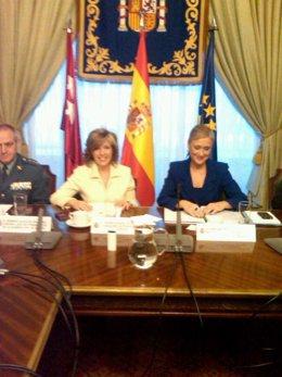 Regina Plañiol Y Cristina Cifuentes Se Reúnen En La Delegación Del Gobierno