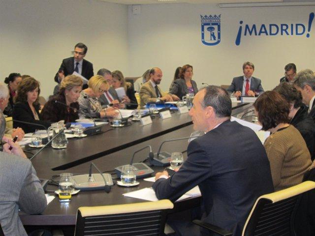 Comisión De Urbanismo Y Vivienda Del Ayuntamiento De Madrid