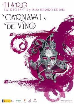 Cartel Anunciador Del Carnaval Del Vino 2012