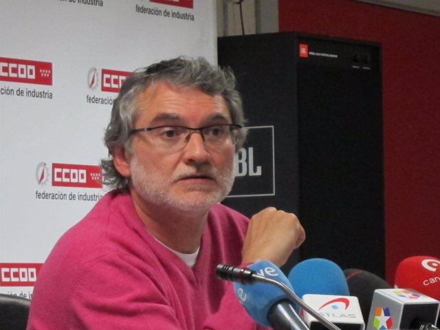 El Secretario De Comunicación, Fernando Lezcano