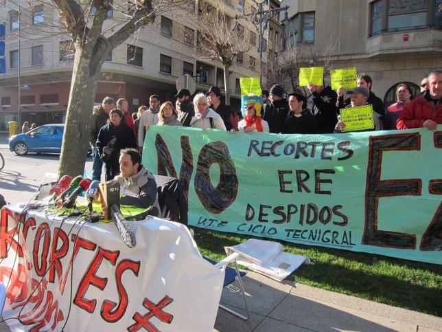 Jardineros De Eulen Y Ciclo Contra Los Despidos.