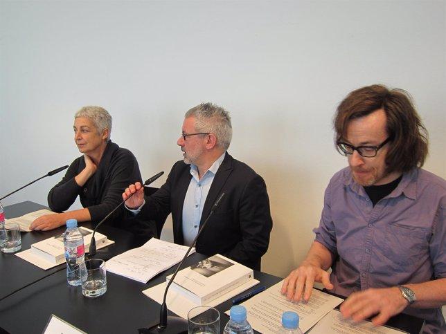 Cristina Zelich, Bartomeu Marí Y Jorge Ribalta