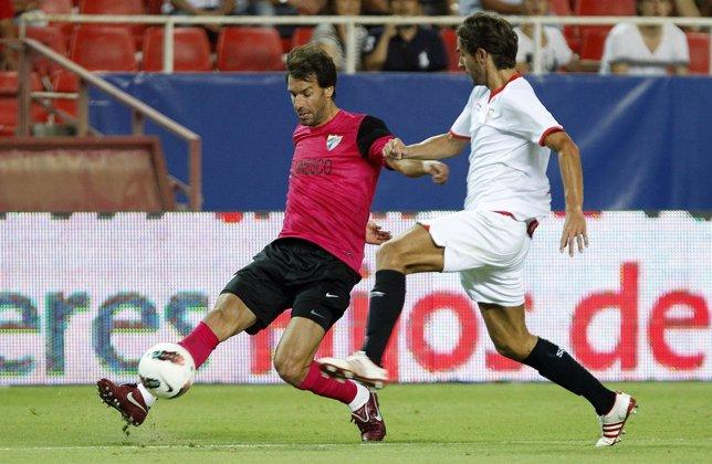 Van Nistelrooy Y Escudé, Sevilla-Málaga CF