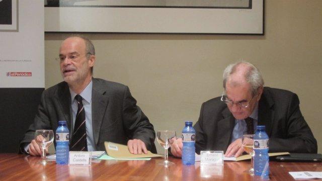 Antoni Castells Y Ernest Maragall (PSC)