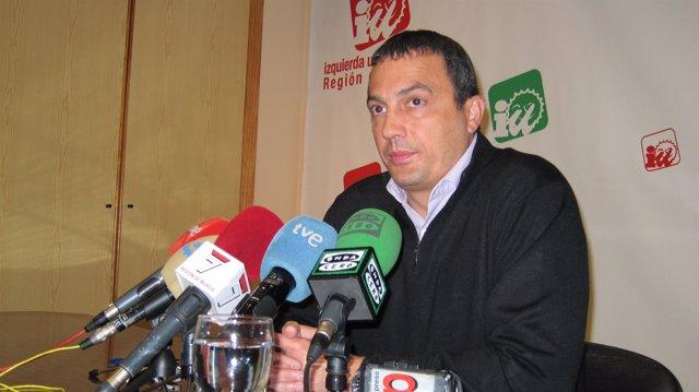 El Coordinador Regional De IU-Verdes En Murcia, José Antonio Pujante