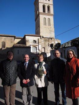 Los Concejales Del PSOE, Ante San Bartolomé