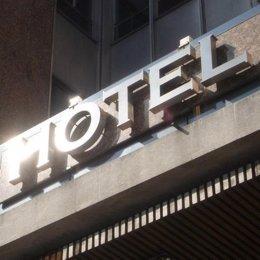 Entrada De Un Hotel