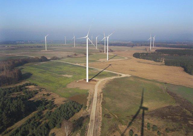 Parque Eólico De Golice, De Acciona En Polonia