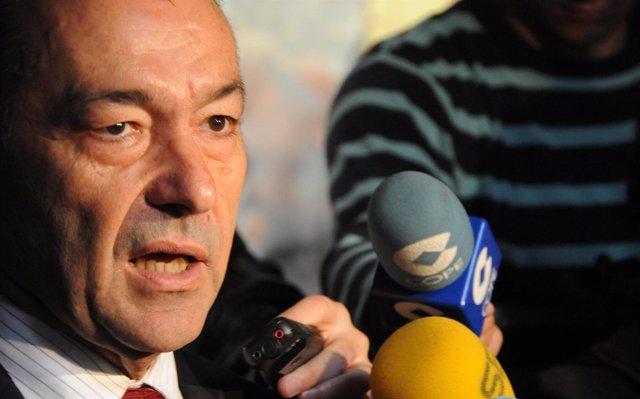 El Presidente Del Gobierno De Canarias, Paulino Rivero, (CC)