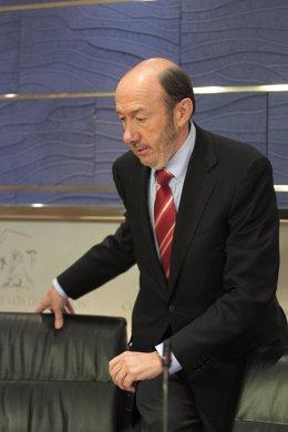 RDP De Alfredo Pérez Rubalcaba En El Congreso
