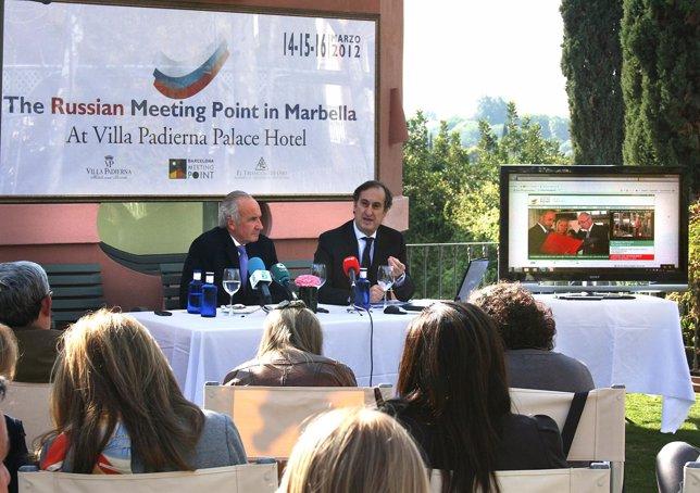 Presentación Del Russian Meeting Point De Marbella
