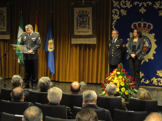 Toma De Posesión Del Nuevo Jefe Policial En Andalucía Occidental
