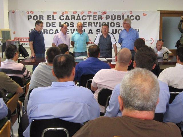 Asamblea De Trabajadores De Mercasevilla.