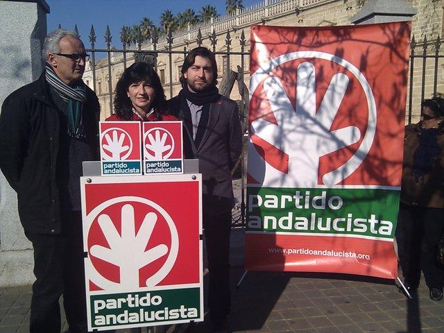 Pilar González, Con Álvarez Ossorio Y Mercado, Hoy Ante El Parlamento