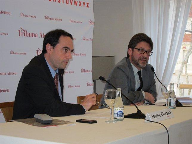Jaume Ciurana En La Conferencia 'Un Proyecto Cultural Para Barcelona'