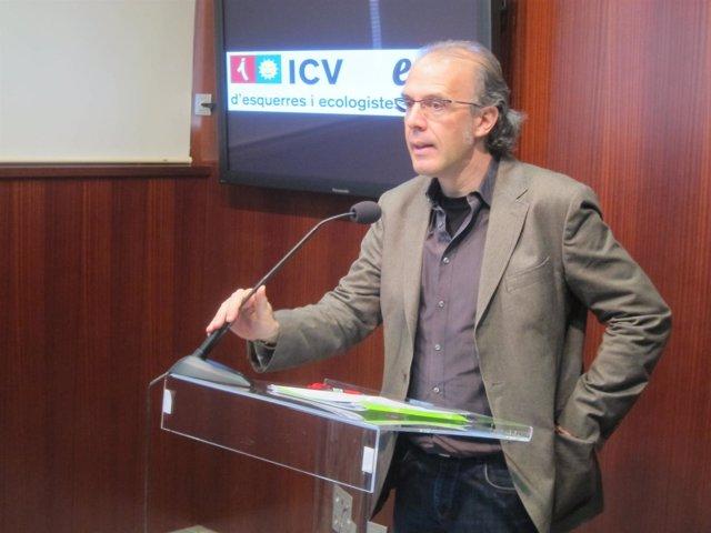 El Líder De ICV-Euia En El Ayuntamiento De Barcelona, Ricard Gomà